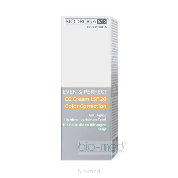 Biodroga md even perfect cc cream spf 20 color for Perfect bake pro system