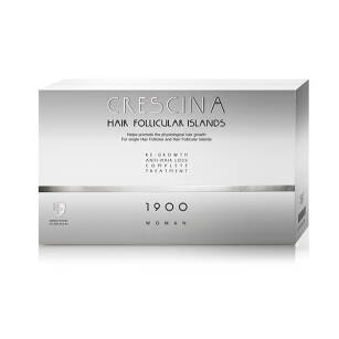 CRESCINA Hair Follicular Island Complete Treatment 1900 for Woman 10+10amp.