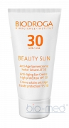 Biodroga Institut BEAUTY SUN Anti-Age Face Sun Cream UVA/UVB SPF 30