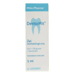 MSE Pharmazeutika Q10 Dentomit żel do dziąseł 5ml