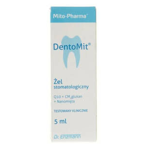 MSE dr Enzmann Q10 Dentomit żel do dziąseł 5ml