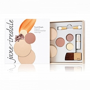 Jane Iredale Zestaw próbny PURE & SIMPLE - Medium Dark