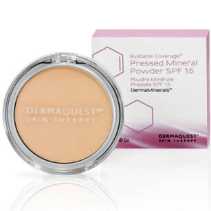 DermaQuest Pressed Mineral Powder SPF 15, 2W