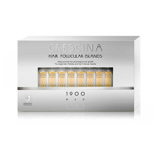 CRESCINA Hair Follicular Islands 1900 dla Mężczyzn - 20x3,5ml