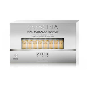 CRESCINA Hair Follicular Islands 2100 dla Mężczyzn - 20x3,5ml