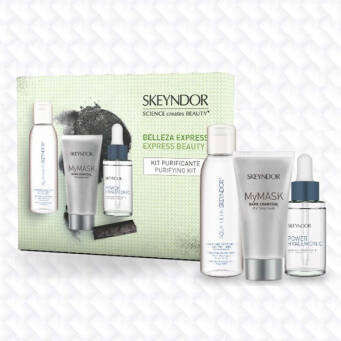 SKEYNDOR Zestaw Express Beauty Kits - PURIFYING KIT - DETOX