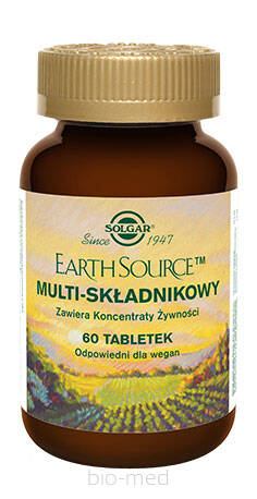Solgar EARTH SOURCE Multi-Składnikowy