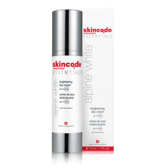 SKINCODE ESSENTIALS ALPINE WHITE Brightening Day Cream SPF 15 - 50ml