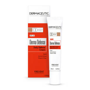 Dermaceutic Derma Defense Medium Krem DD na dzień z SPF 50 i pigmentem medium