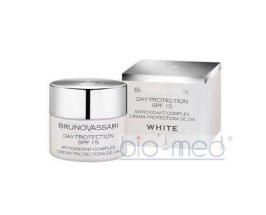 BRUNO VASSARI WHITE Day Protection SPF15