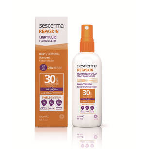 SeSDERMA REPASKIN Transparent Spray SPF30 - 200ml