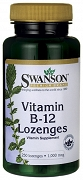 Swanson Witamina B-12 1000mcg 250 do ssania - suplement diety
