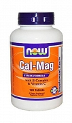 NOW Foods Cal-Mag Stress Formula 100 tabletek BRAK