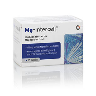 Mg-Intercell 60kaps Cytrynian Magnezu