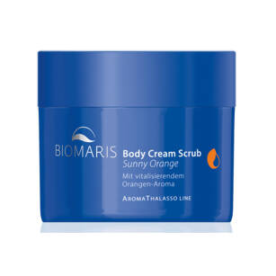 Biomaris AROMA THALASSO Body cream scrub Sunny Orange