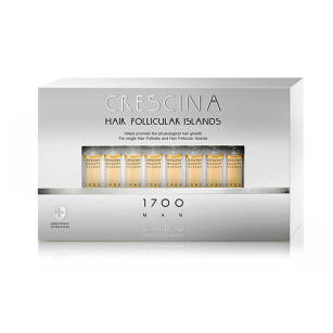 CRESCINA Hair Follicular Islands 1700 dla Mężczyzn - 20x3,5ml