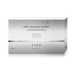 CRESCINA Hair Follicular Island Complete Treatment 2100 for Woman 10+10amp.