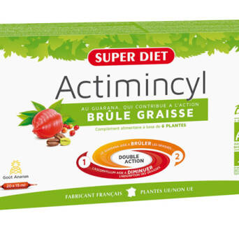 SUPER DIET Actimincyl Fat Burner – suplement diety 20x15ml - BRAK