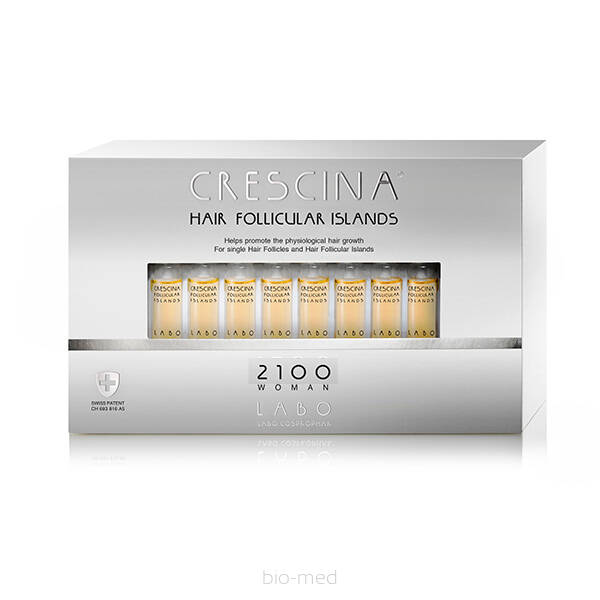 CRESCINA Hair Follicular Island 2100 for Woman- 20amp.