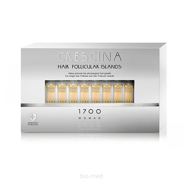 CRESCINA Hair Follicular Islands 1700 dla Kobiet - 20x3,5ml