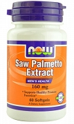 NOW Foods Saw Palmetto 60 kapsułek po 160 mg